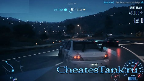 need for speed carbon читы