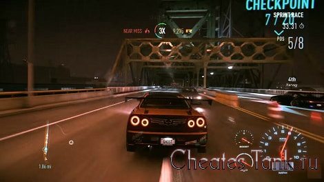 need +for speed the run чит коды